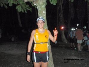 Reto cumplito, Moonrun, 2009,  Playa Dominical Costa Rica.