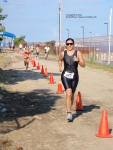 Triatlón, Quepos, 2011 con la asesoría del profesor Yamil Brenes
