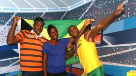 Padres de Usain Bolt